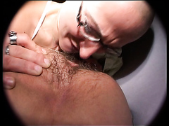 Scat slut wakes up master for scat
