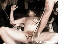 Retro Gay Bondage And Wine Enema