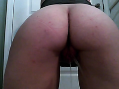 peeing from back - video 2