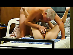 Raunchy granny gets rammed really hard by her husband