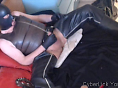 Hooded rubber piss