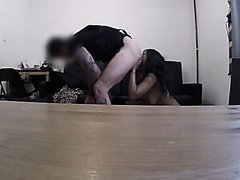 "Sexy Brit Cop Commands slut to ""Lick My Fucking Arse Out"""