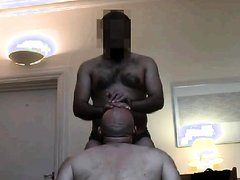WHITE DEEP THROAT FUCK ADDICT PIG FOR BLATINO COCK LOADS
