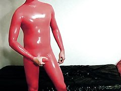 CHINESE GUMMI BALLOON BOY - FULL RUBBER BODY CUMMER JACK 03