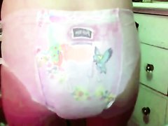 teen girl poops diaper - video 2