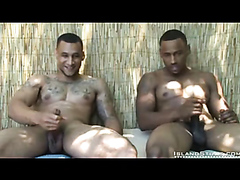 Two hot black brrothers show their stuff