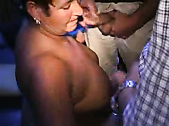 Kinky mature bitch fingers her pierced cunt and pleasures thick rods