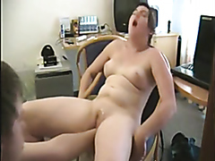 Naughty GF has her cleanly shaved snatch fisted hard