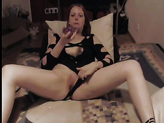 My sexy wife fucks her cunt with big sex toys