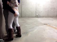 Spontanes Sextreffen mit Milf im Parkhaus