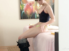 Beauty fucked after massage, 8, full HD