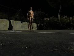 nakd in the street