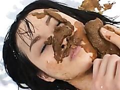 Nippon Lesbian Vomit And Scat