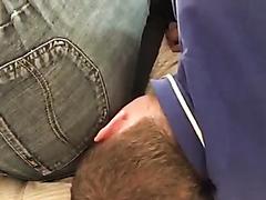 Face fart on slave 1/3