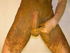 Brown Shit Stick meets White Sperm - Preview