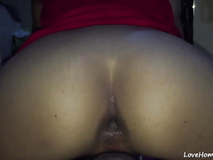 She loves it in both holes