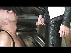 Leather PissPlay