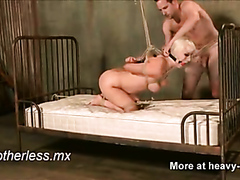 Tied Up Ball Gagged Doggystyle Fuck