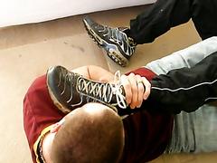 Mutual foot worship