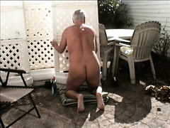 WORKING NUDE OUTDOORS #5
