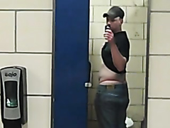 Another truck stop restroom
