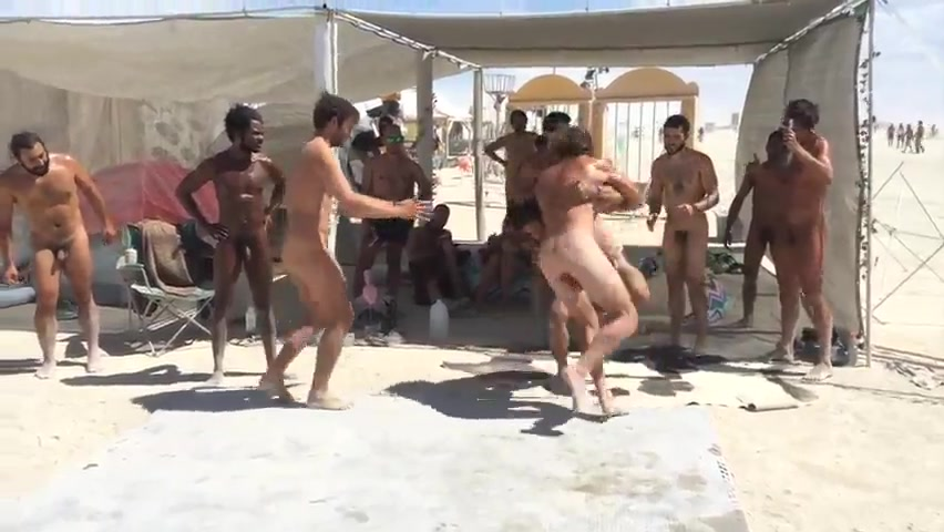Nude Turkish Wrestling
