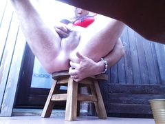 outdoor pissing - video 4