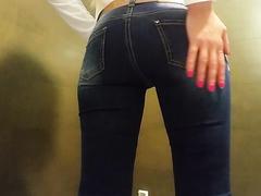 Girl Poops In Jeans