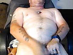 Hot Dude Masturbates and Ejaculates Wearing Ballcap