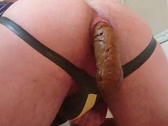 Fat log stretching my hole