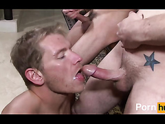 cum eating - video 2