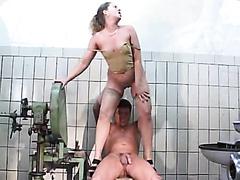 Mature Pissing Couple