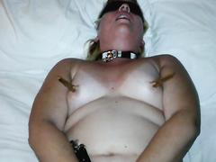 Solo HandCuffed Slave Molly