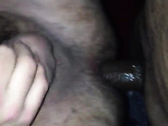 Me getting fucked bareback by a big raw cock