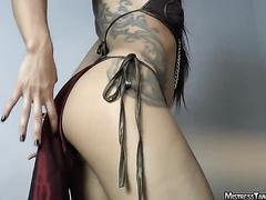 hot woman juicy ass fart tease