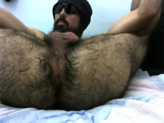 Totally Hairy Ass