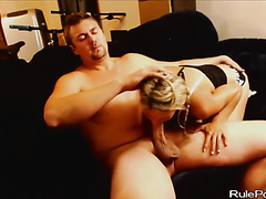 Huge Meaty Dick For Her Throat And Ass