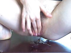 Pussy drool tasting