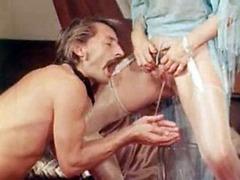Mature pervert likes female urine
