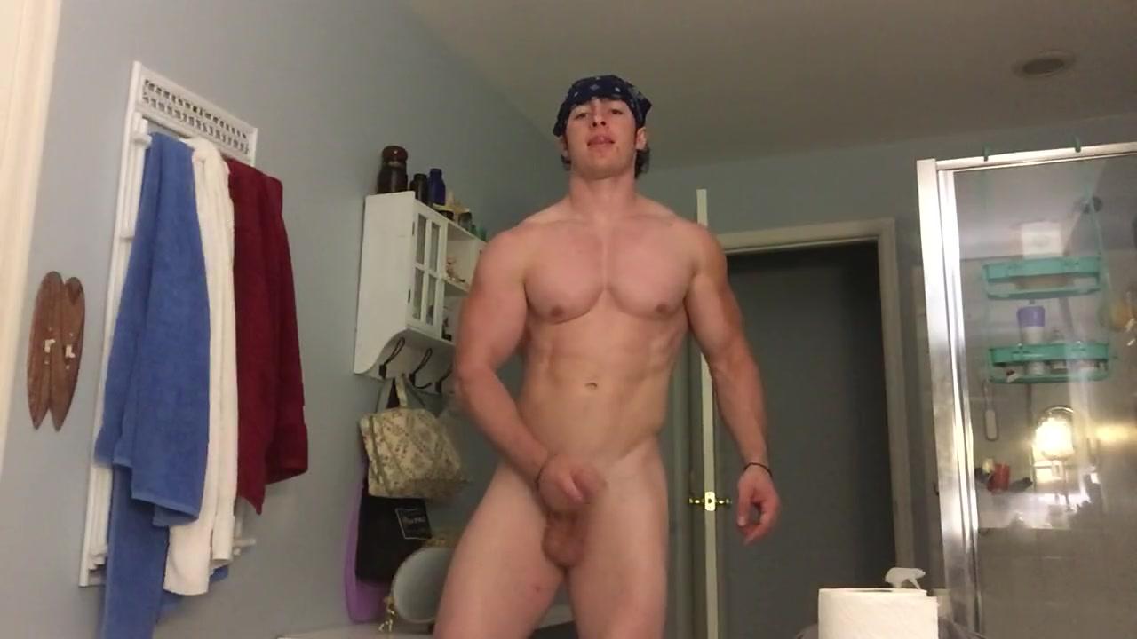 gay porn in the bathroom