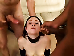 Long live ass to mouth gangbang slut