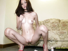 Asian beauty has long sex, HD