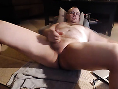 Scott Fully Exposed Masturbation and Ejaculation
