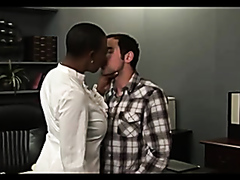 Busty black teacher gets fucked by a pervy student