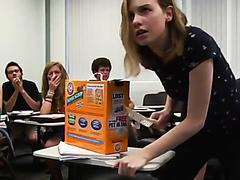 Funny Scat SchoolGirl Shits In Class