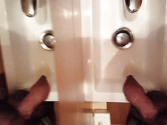 pee in the sink