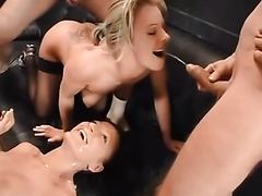 A truly excellent golden shower video