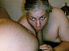 49yo Married Granny Lynne Loves Sucking My BBC