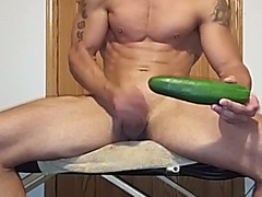 Stud with cucumber
