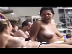 Beach puffy tits potpourri